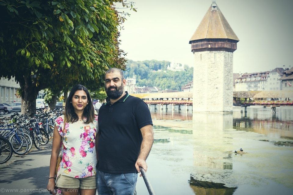 Chapel Bridge Lucerne Photo Shooting