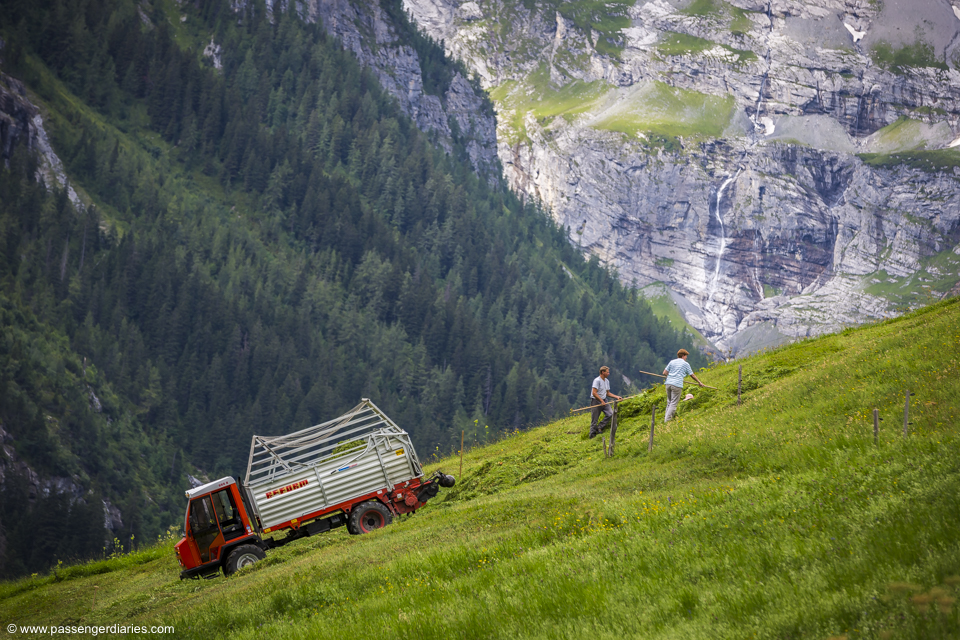 Lauterbrunnen Mt trail tour