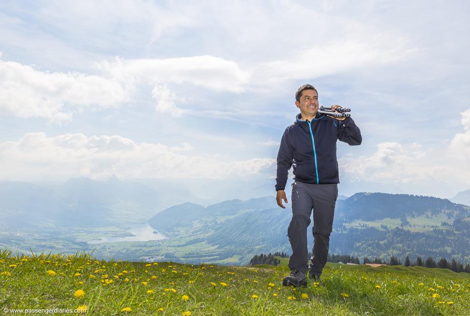 Luis Mt Rigi Private Hiking Tour
