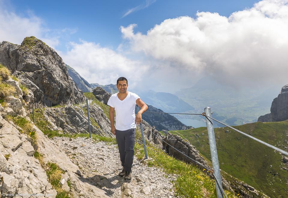 Luis Mt Pilatus hiking