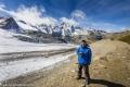 Luis Exploring Diavolezza Glacier