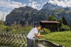 Luis Exploring Lauterbrunnen Valley