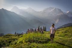 Luis Hiking Lauterbrunnen Valley