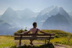 Luis Hiking around Jungfrau Region