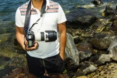 Luis in the Bulgarian Coast