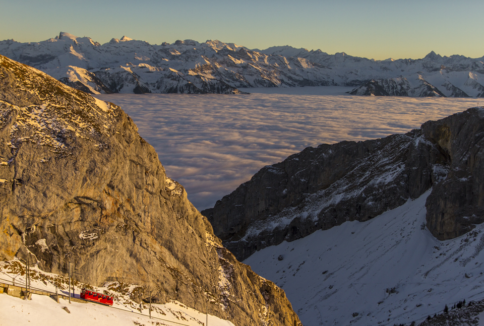 Mt Pilatus & Lucerne Winter Tour