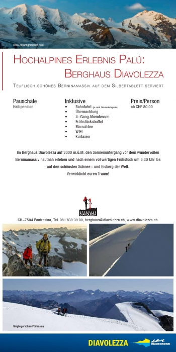 Engadin St Moritz Mountains Flyer