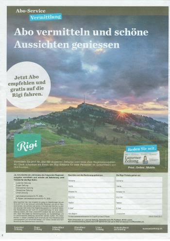 Central Swiss Newspaper