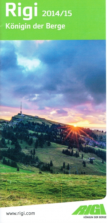 Image of Mount Rigi 2015 Official Flyer