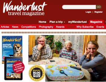 Wanderlust UK Travel Magazine
