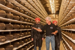Swiss Cheese Tasting Tour in a Cave