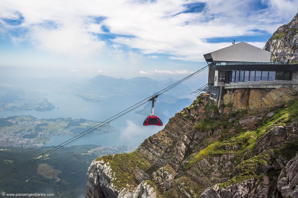 Summer Color featuring Mount Pilatus, Switzerland.