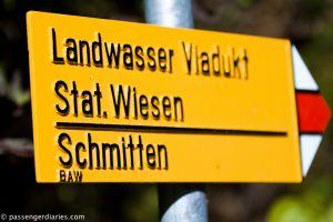 Landwasser Viadukt wander way