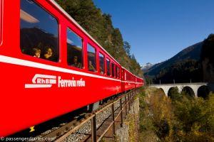 Astonishing Views from the Bernina Train