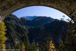 Tunnel in the Bernina Line.