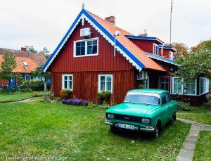 Nida town houses