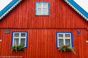 Nida town houses.