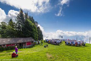 Wander path from rigi kaltbad to scheidegg