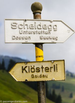 Chäserenholz path.