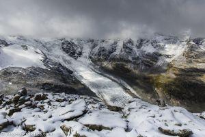 Morteratsch Glacier.