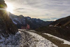 Wanderpath towards Sass Queder.